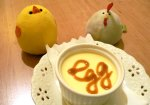 playful egg